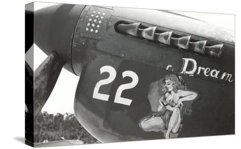 Nose Art, Dream, Pin-Up--Stretched Canvas Print