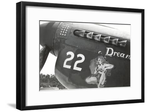 Nose Art, Dream, Pin-Up--Framed Art Print