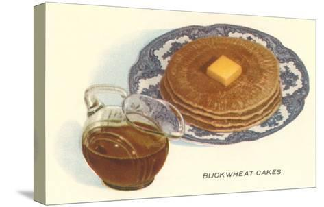 Buckwheat Cakes--Stretched Canvas Print