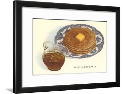 Buckwheat Cakes--Framed Art Print