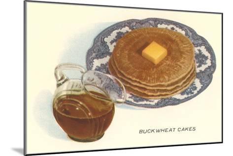 Buckwheat Cakes--Mounted Art Print