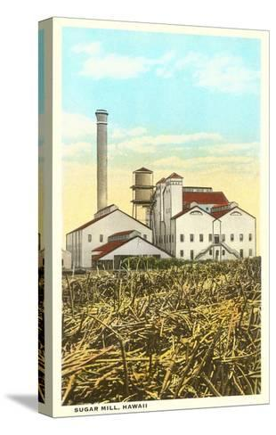 Sugar Cane Processing Mill--Stretched Canvas Print