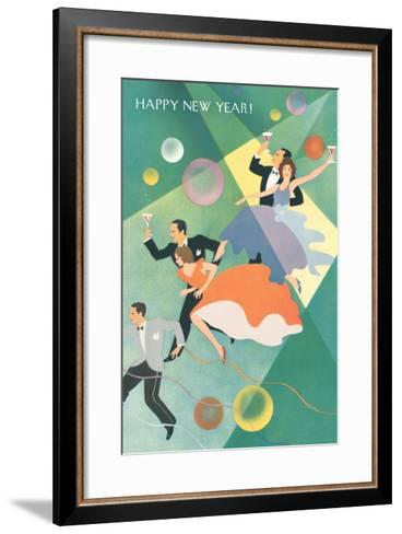 Party Celebration--Framed Art Print