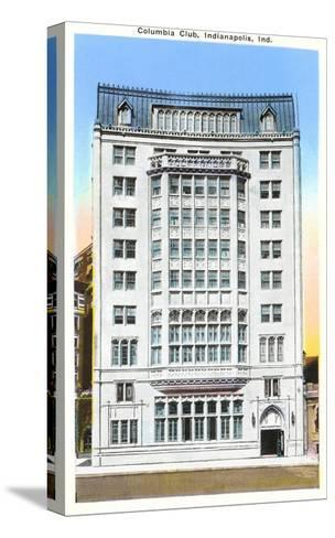 Columbia Club, Indianapolis, Indiana--Stretched Canvas Print