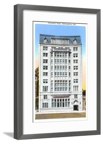 Columbia Club, Indianapolis, Indiana--Framed Art Print