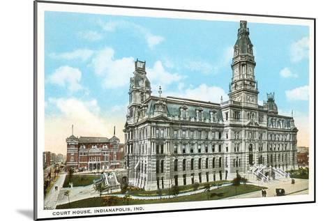 Courthouse, Indianapolis, Indiana--Mounted Art Print