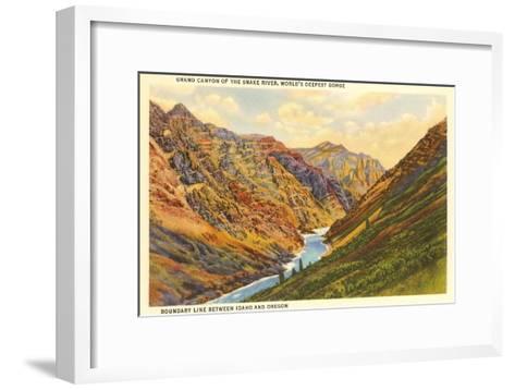 Snake River, Idaho--Framed Art Print