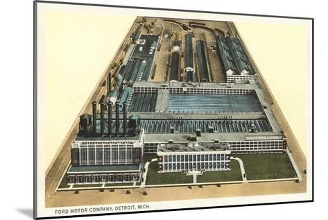 Ford Motor Company, Detroit, Michigan--Mounted Art Print