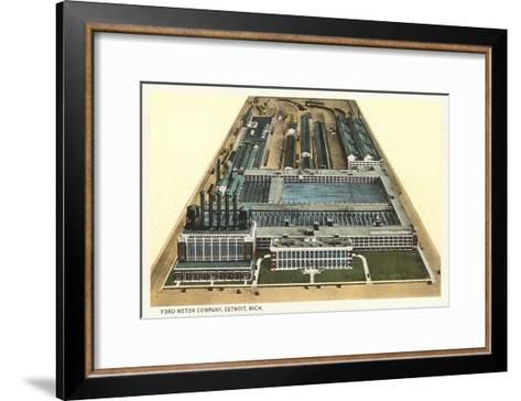 Ford Motor Company, Detroit, Michigan--Framed Art Print