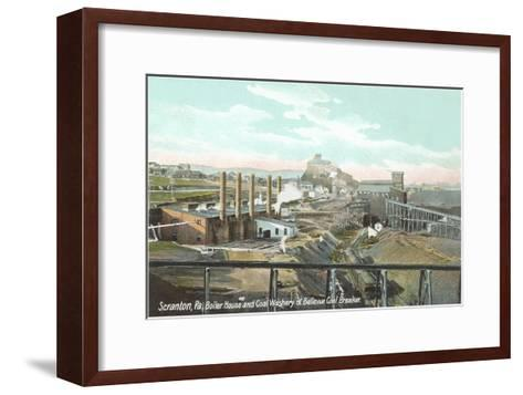 Bellevue Coal Breaker, Scranton, Pennsylvania--Framed Art Print