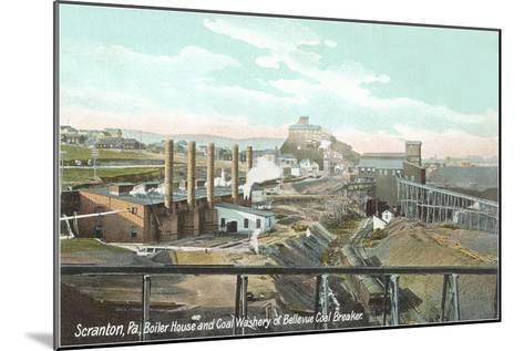 Bellevue Coal Breaker, Scranton, Pennsylvania--Mounted Art Print