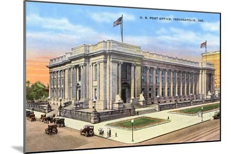 Post Office, Indianapolis, Indiana--Mounted Art Print