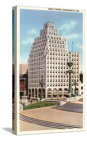 Circle Tower, Indianapolis, Indiana--Stretched Canvas Print