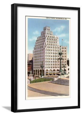 Circle Tower, Indianapolis, Indiana--Framed Art Print