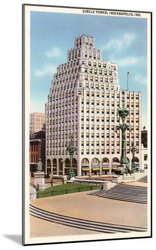 Circle Tower, Indianapolis, Indiana--Mounted Art Print