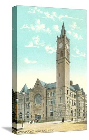 Union Station, Indianapolis, Indiana--Stretched Canvas Print