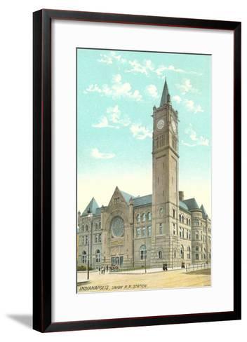 Union Station, Indianapolis, Indiana--Framed Art Print