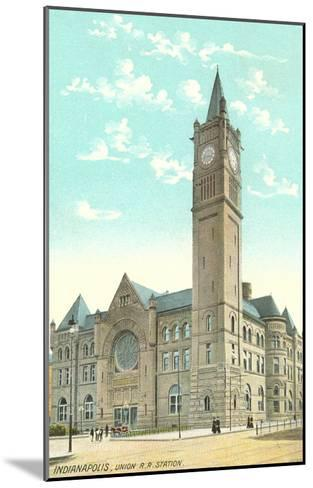 Union Station, Indianapolis, Indiana--Mounted Art Print