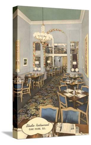 Studio Restaurant, Oak Park, Illinois--Stretched Canvas Print