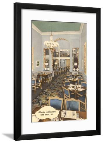 Studio Restaurant, Oak Park, Illinois--Framed Art Print