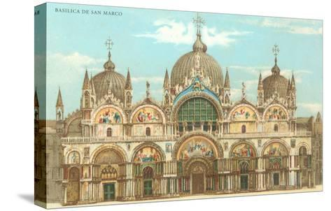 St. Mark's Basilica--Stretched Canvas Print