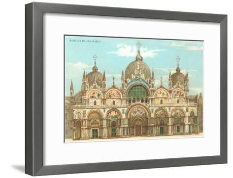 St. Mark's Basilica--Framed Art Print
