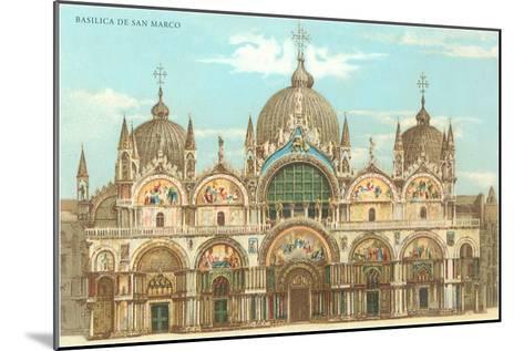 St. Mark's Basilica--Mounted Art Print