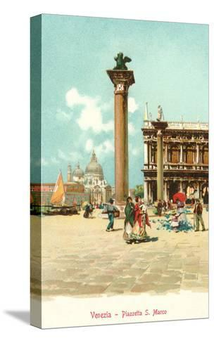 St. Mark's Square, Venice, Italy--Stretched Canvas Print