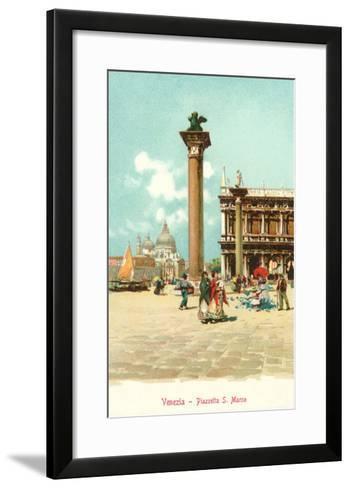 St. Mark's Square, Venice, Italy--Framed Art Print