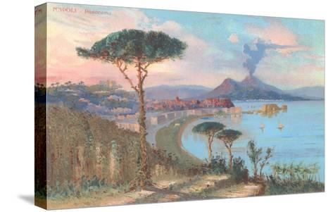 View of Bay of Naples, Italy--Stretched Canvas Print