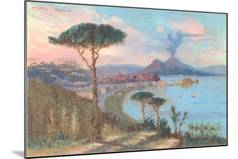View of Bay of Naples, Italy--Mounted Art Print