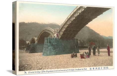 Kintai Bridge, Japan--Stretched Canvas Print