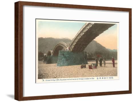 Kintai Bridge, Japan--Framed Art Print