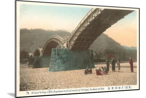 Kintai Bridge, Japan--Mounted Art Print