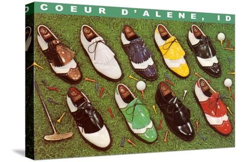 Golf Shoes, Coeur d'Alene, Idaho--Stretched Canvas Print