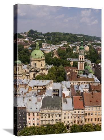 Beautiful City of Lviv, Ukraine-Bill Bachmann-Stretched Canvas Print
