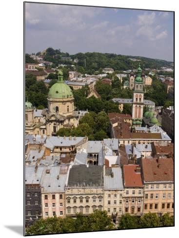 Beautiful City of Lviv, Ukraine-Bill Bachmann-Mounted Photographic Print