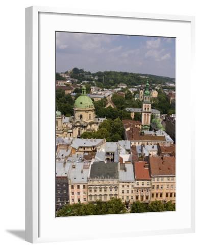 Beautiful City of Lviv, Ukraine-Bill Bachmann-Framed Art Print