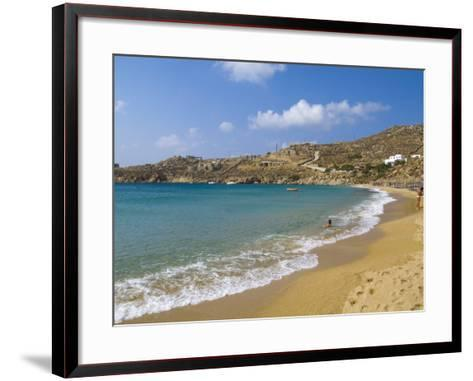 Super Paradise Beach, Mykonos, Greece-Bill Bachmann-Framed Art Print