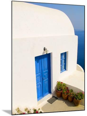 White House, Oia, Santorini, Greece-Bill Bachmann-Mounted Photographic Print