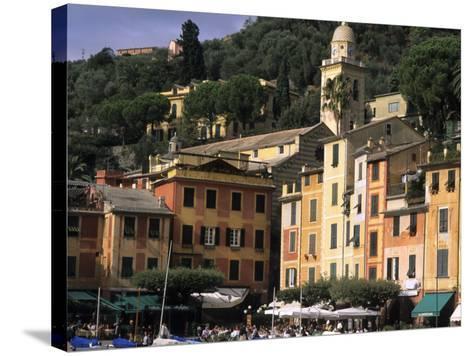 Beautifl Vista, Portofino, Italy-Bill Bachmann-Stretched Canvas Print