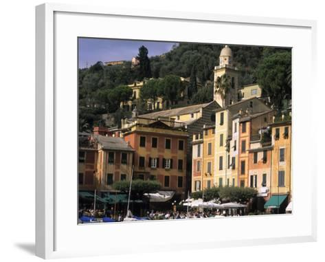 Beautifl Vista, Portofino, Italy-Bill Bachmann-Framed Art Print