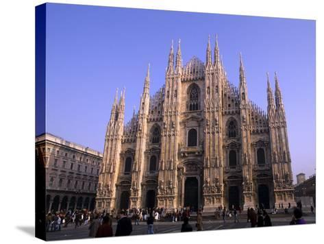 Duomo Church, Milano, Italy-Bill Bachmann-Stretched Canvas Print