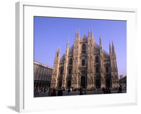 Duomo Church, Milano, Italy-Bill Bachmann-Framed Art Print