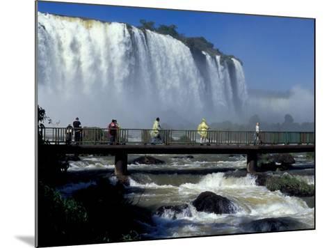 Salto Floriano, Foz Do Iguacu, Iguacu National Park, Parana, Brazil-Julie Bendlin-Mounted Photographic Print