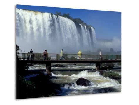 Salto Floriano, Foz Do Iguacu, Iguacu National Park, Parana, Brazil-Julie Bendlin-Metal Print