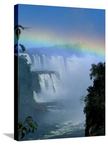 Isla San Marten, Iguacu National Park, Foz Do Iguacu, Cataratas, Argentina-Julie Bendlin-Stretched Canvas Print