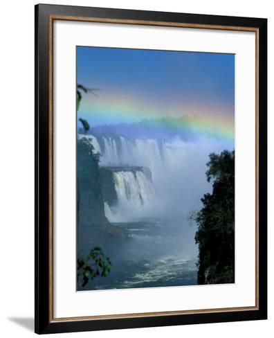 Isla San Marten, Iguacu National Park, Foz Do Iguacu, Cataratas, Argentina-Julie Bendlin-Framed Art Print