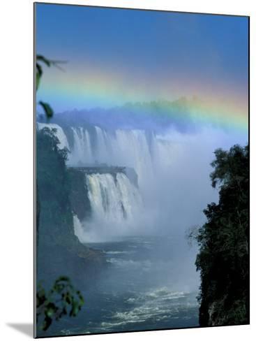 Isla San Marten, Iguacu National Park, Foz Do Iguacu, Cataratas, Argentina-Julie Bendlin-Mounted Photographic Print