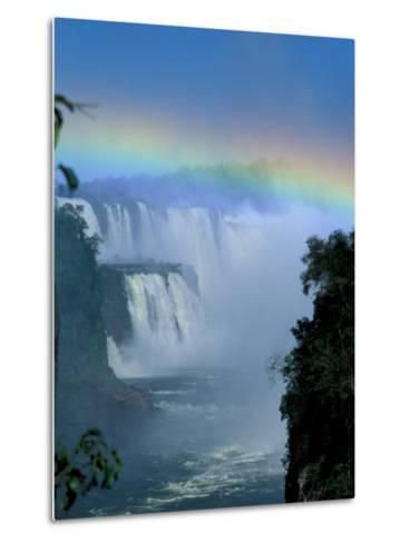 Isla San Marten, Iguacu National Park, Foz Do Iguacu, Cataratas, Argentina-Julie Bendlin-Metal Print